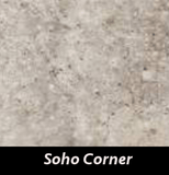 "Regina Hardwood Flooring Center Tile 4"" x 2.5"" x 5.25"" - Soho Corner - per piece New York - Tile"