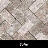 "Regina Hardwood Flooring Center Tile 4"" x 8"" - Soho - per SqFt New York - Tile"