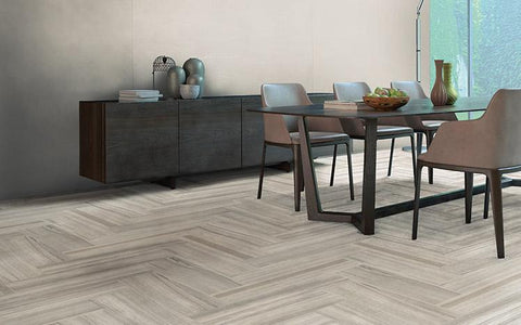 "Regina Hardwood Flooring Center Tile Choose Your Color & Style Zebrino 12""x24"" Polished - Tile"
