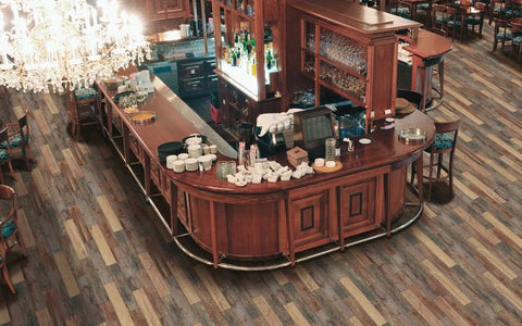 Regina Hardwood Flooring Center Tile Color Choice: Ecowood - Tile