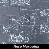 Regina Hardwood Flooring Center Tile Nero Marquita - per SqFt Bricks  - Tile