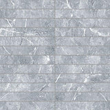 "Regina Hardwood Flooring Center Tile Savoie Grey 1"" x 6"" - per SqFt Absolute Marble - Tile"