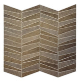 Regina Hardwood Flooring Center Tile Storm - Mosaic - per SqFt Mile End - Tile