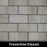 Regina Hardwood Flooring Center Tile Travertine Classic - per SqFt Bricks  - Tile