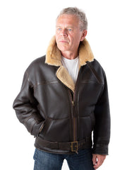 Sheepskin Flying Jacket-Bader