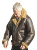 Sheepskin Flying Jacket-Bader Zip Cuff