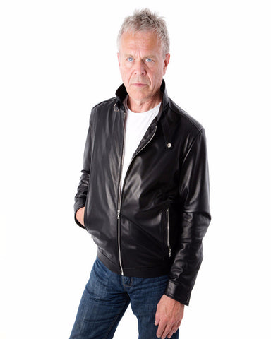 Leather Swain Jacket