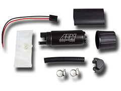 AEM 320 LPH HIGH FLOW IN-TANK FUEL PUMP (OFFSET INLET)