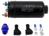 AEM 380LPH INLINE HIGH FLOW FUEL PUMP