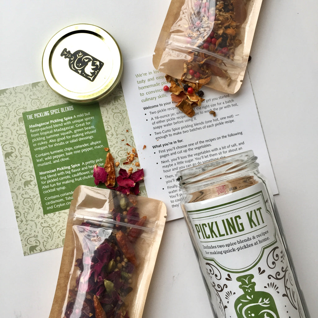 Curio Spice Co. Pickling Kit | Boston General Store