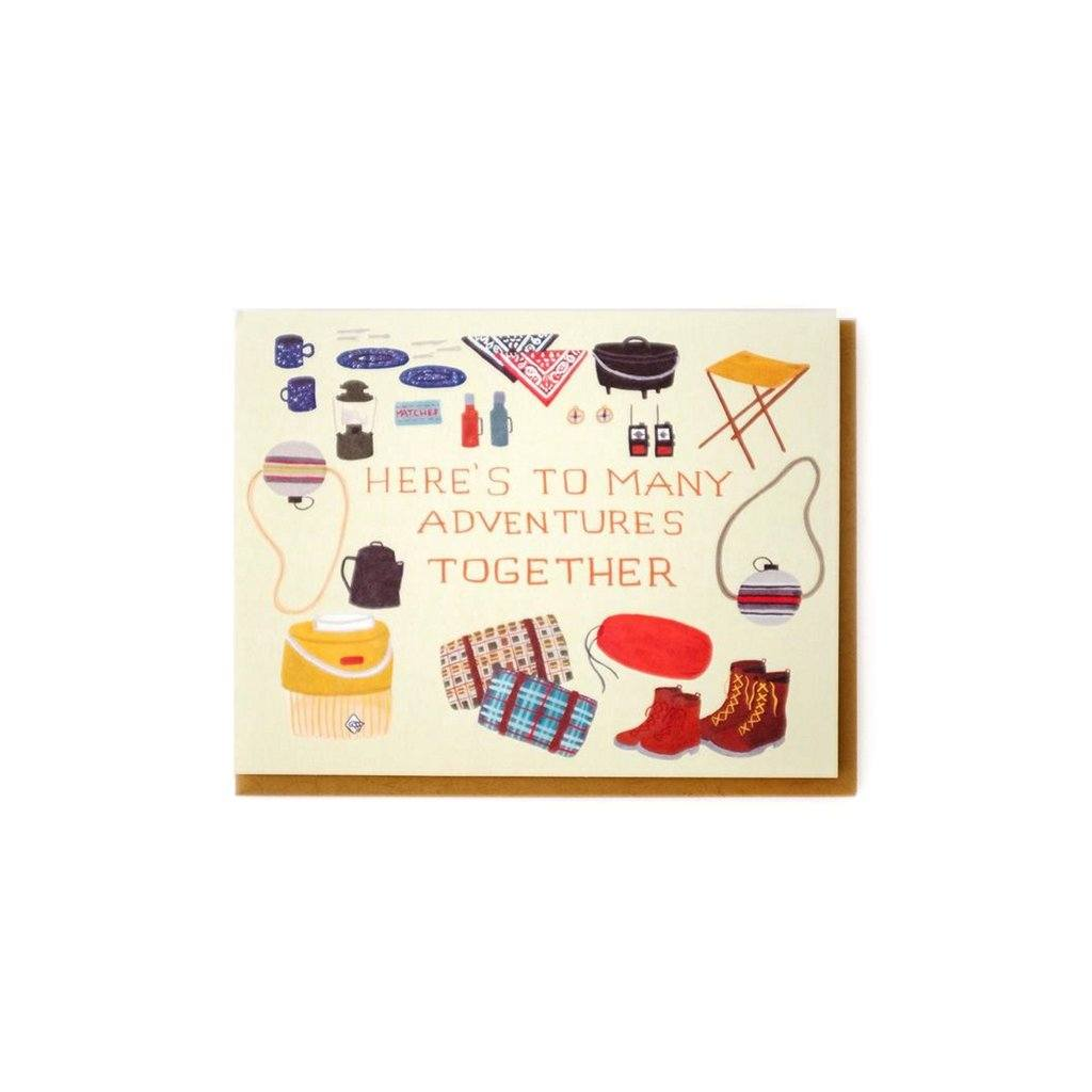 Adventure Together Wedding Card Small Adventure Boston General Store
