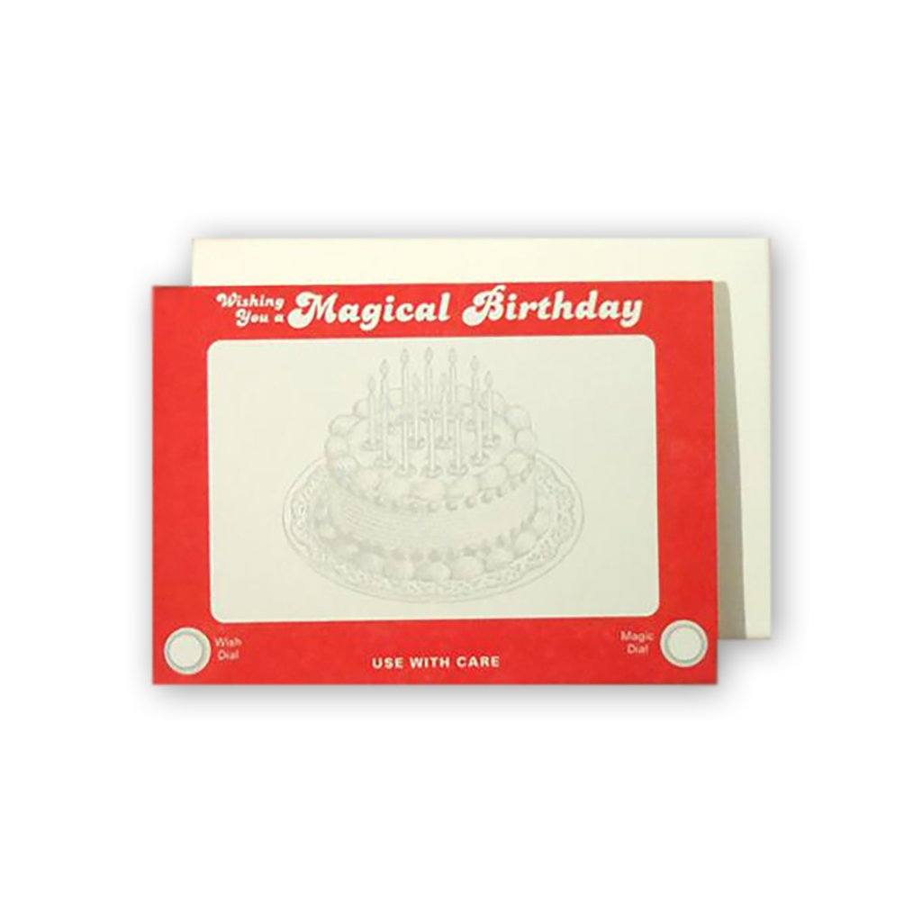 Birthday Etch Card Favorite Design Inc. Boston General Store
