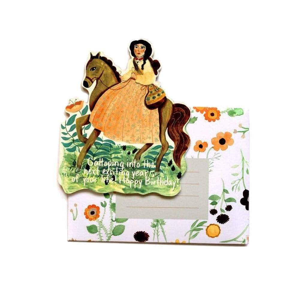 Galloping Into Your Birthday Card Small Adventure Boston General Store