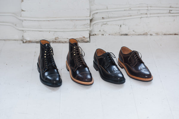 Brogue Boot & Shoe in Shell Cordovan