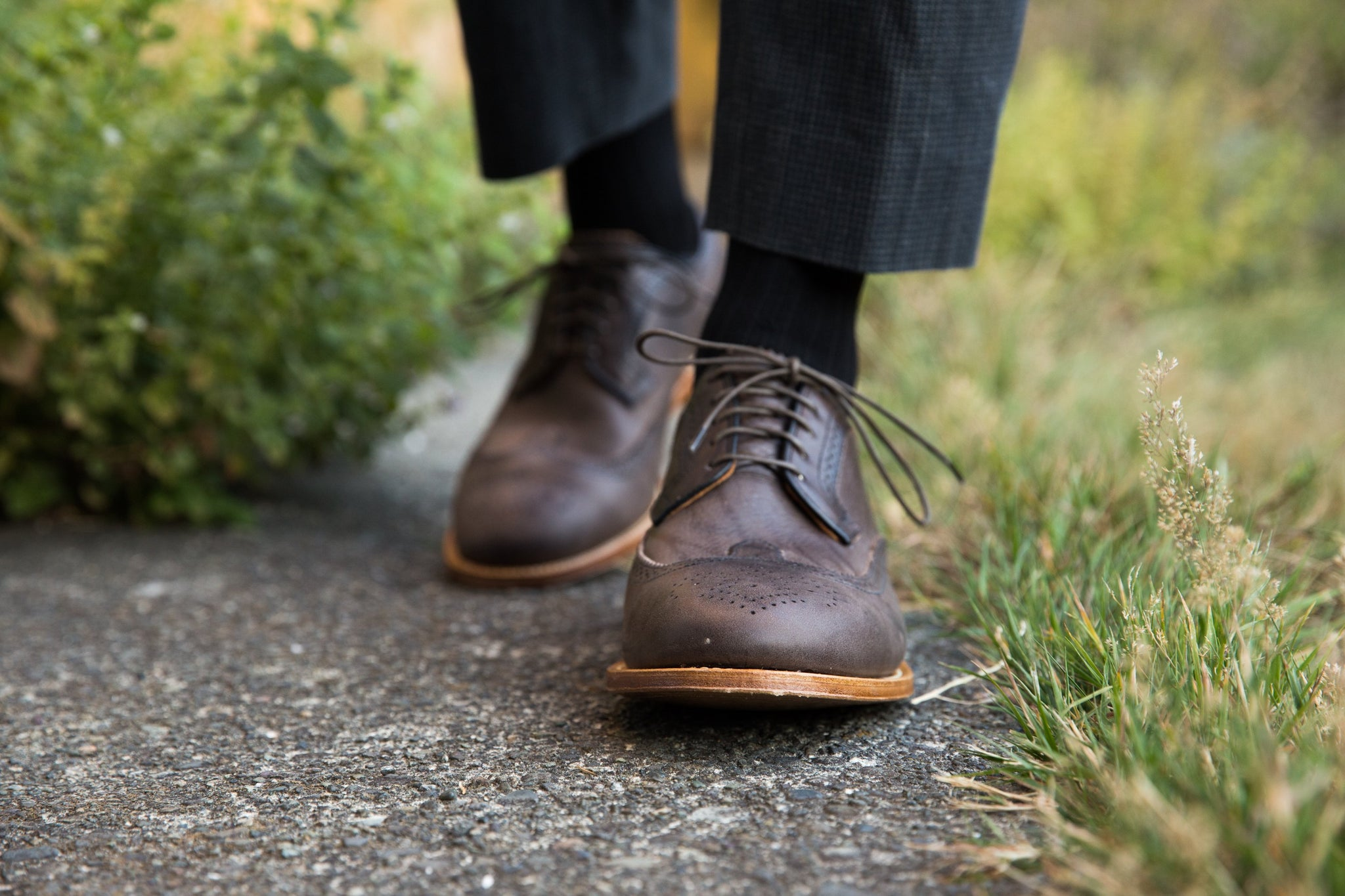 Introducing the Brogue Shoe and Brogue Boot