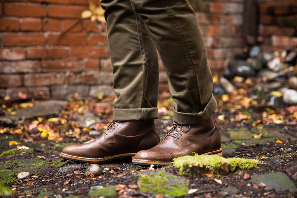 Country Boot Olive Calfskin