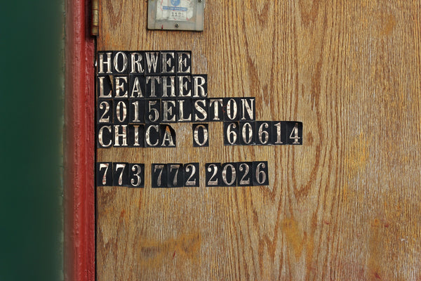 Horween Leather Company (Part 1)
