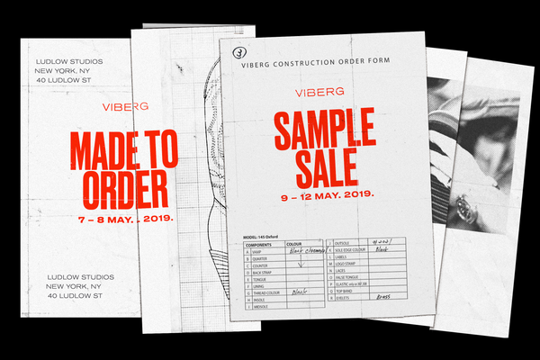 New York Made to Order & Sample Sale