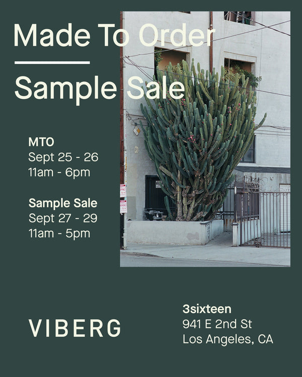 LA Made to Order and Sample Sale