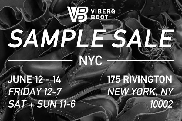 Sample Sale - New York