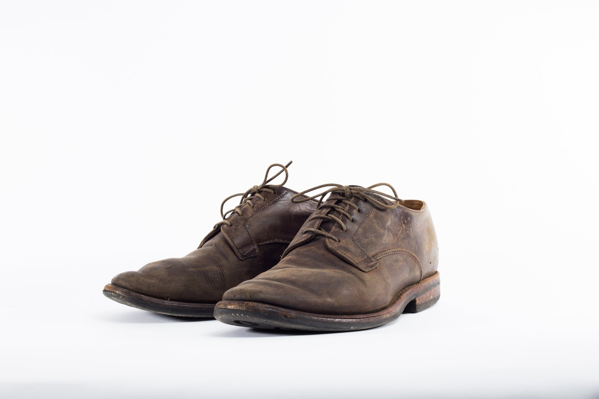 Repairs: Derby Shoe Grey Calf