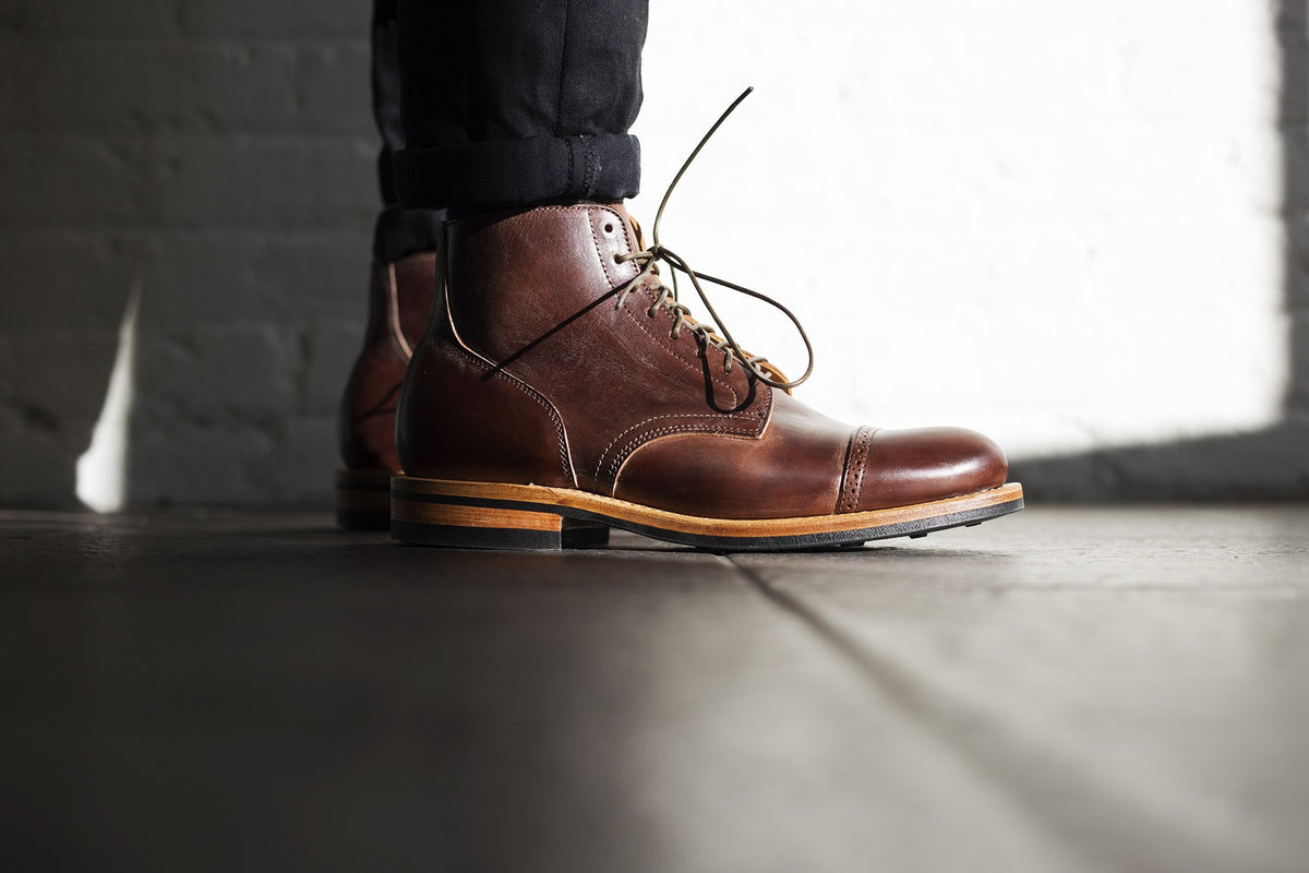 Service Boot Brown Calf