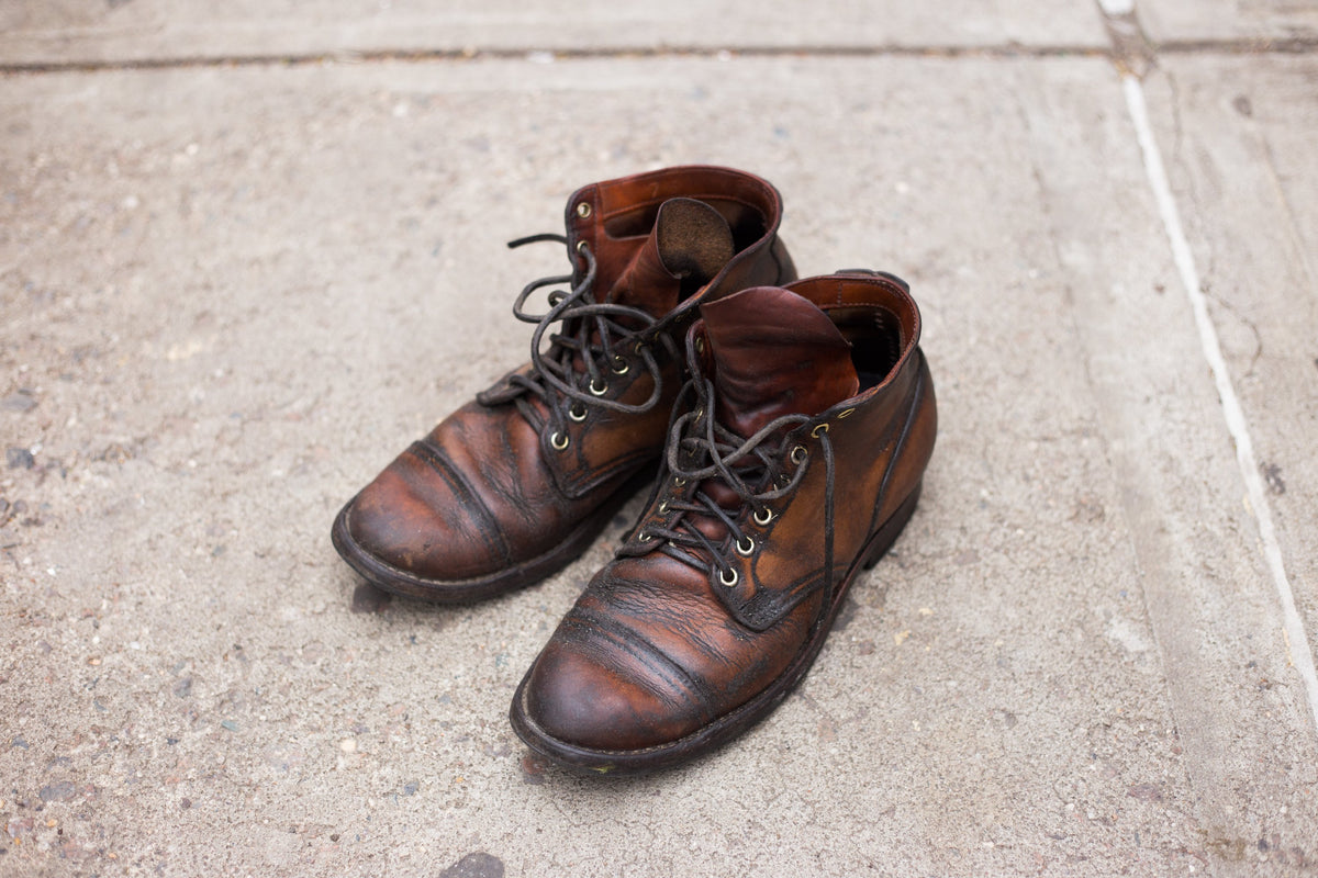 Worn: Service Boot Natural Essex