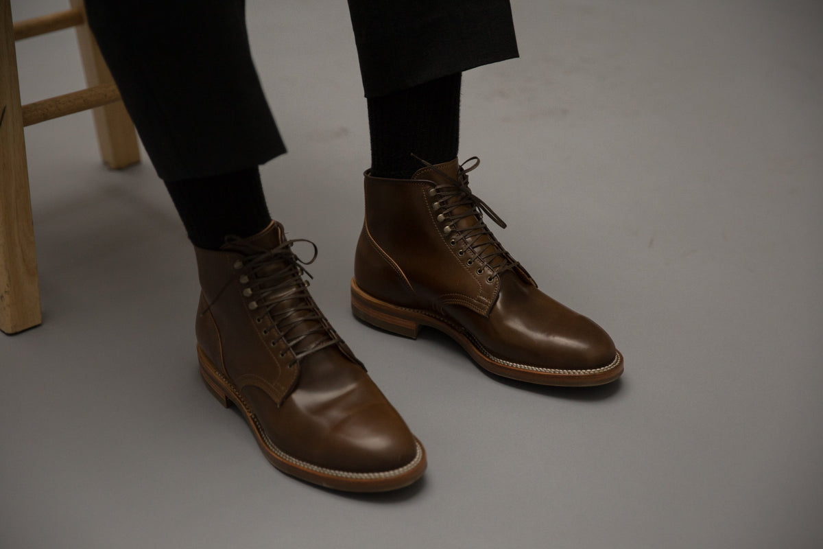 Service Boot Ivywood Shell Cordovan