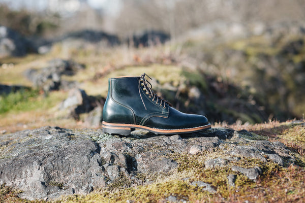 Service Boot Green Shell Cordovan