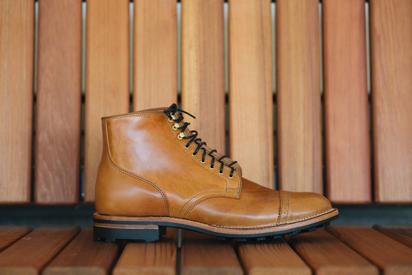 Service Boot Oiled Shell Cordovan