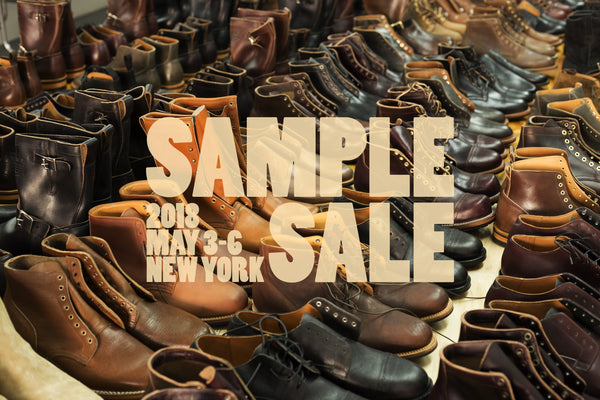 Sample Sale 2018