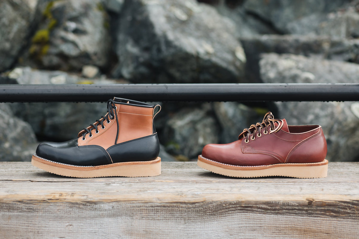 Scout & Oxford Shell Cordovan