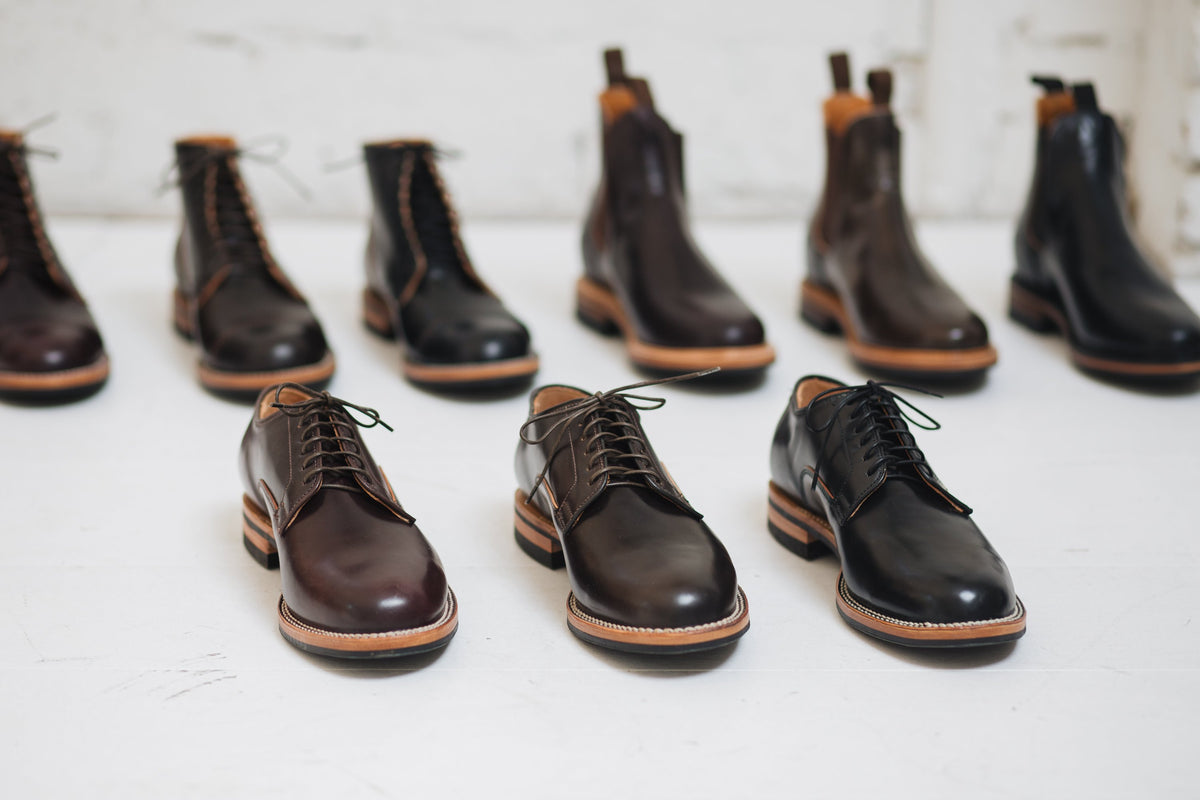The Shell Collection: Derby Shoe Shell Cordovan