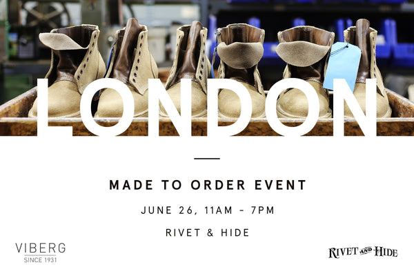 London Made To Order Event