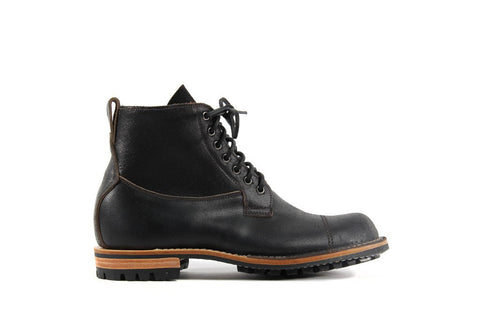 Country Derby Black Waxed Flesh