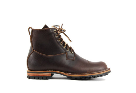 Country Derby Brown Waxed Flesh
