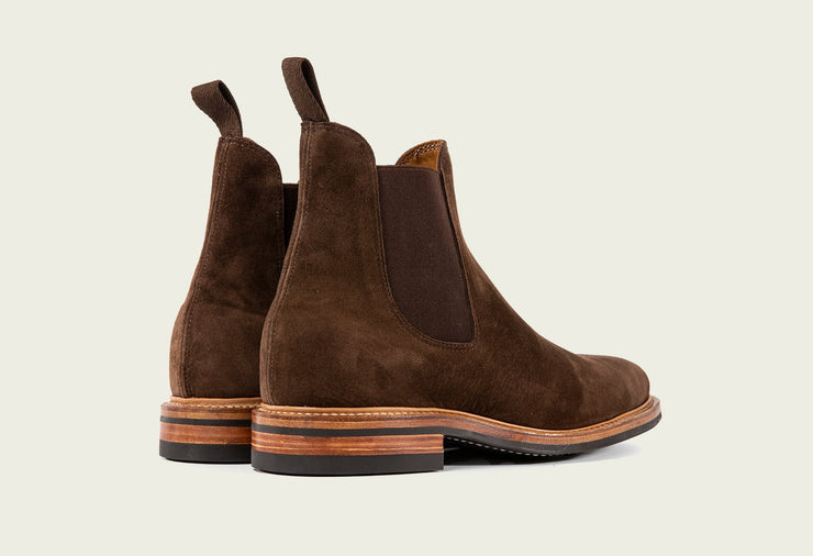 Chelsea - Brown Calf Suede