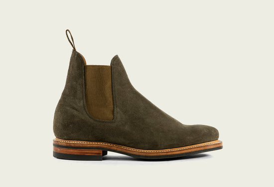 Chelsea Earth Calf Suede