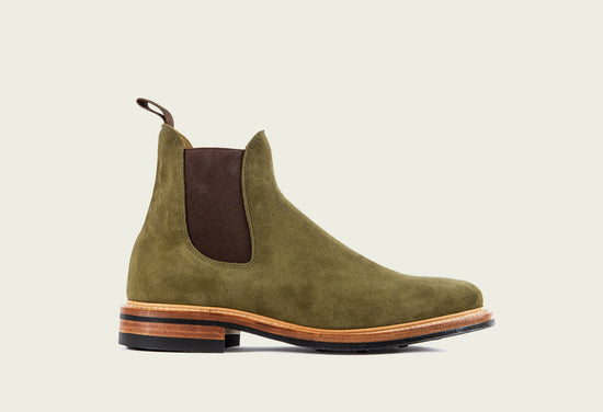 Chelsea Bamboo Calf Suede
