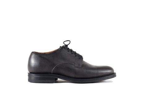 Derby Shoe Dust Black Calf