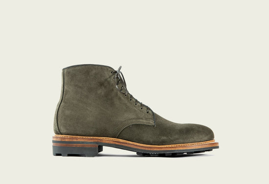Derby Boot Earth Calf Suede