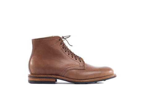 Derby Boot Unglazed Natural Shell Cordovan
