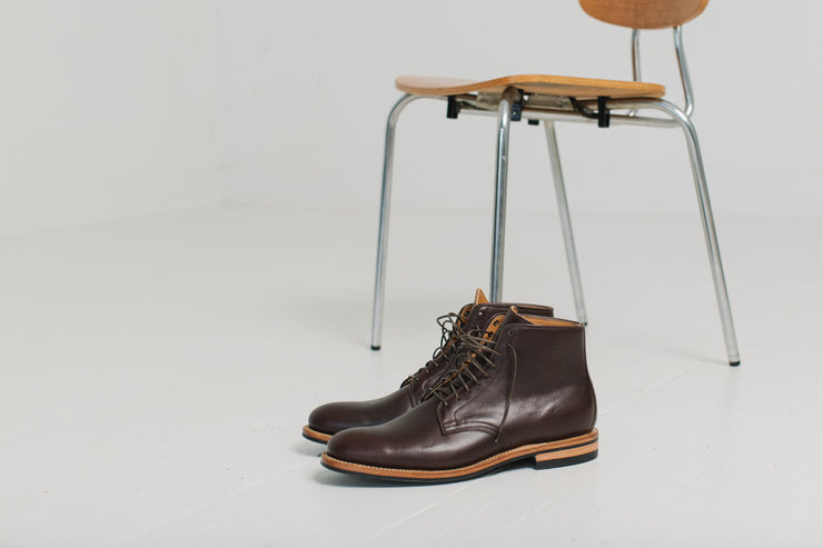 Derby Boot - Brown Classic Calf