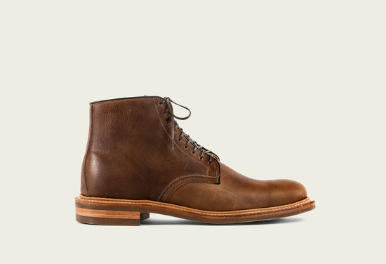Derby Boot Camel Oiled Calf