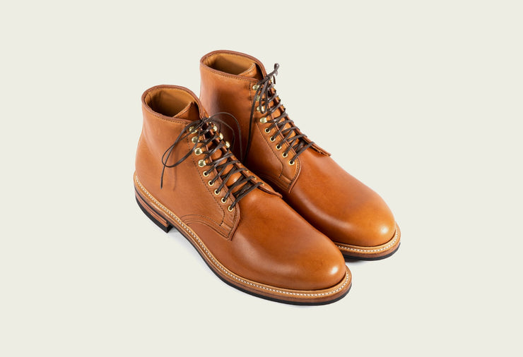 Derby Boot - Chestnut Essex