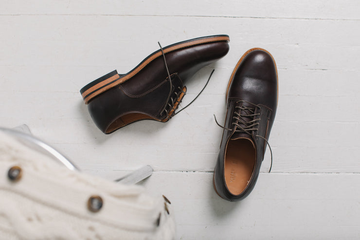 Derby Shoe - Brown Classic Calf