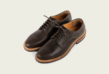 Derby Shoe Clove Oiled Calf