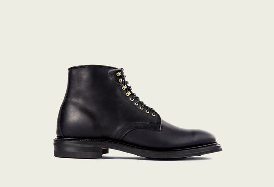 Derby Boot Navy Oiled Calf