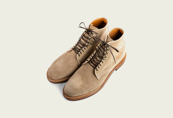 Derby Boot Gaucho Calf Suede