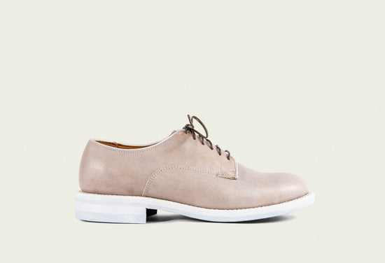 Derby Shoe Used White
